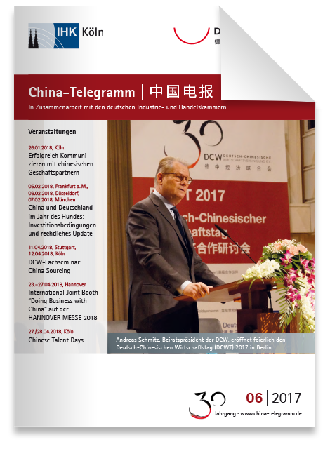 China-Telegramm 06|2017